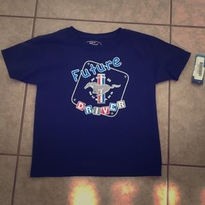Other - Ford Licensed Blue Future Mustang Driver Shirt